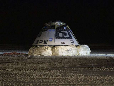 Boeing's Starliner Capsule Lands Safely after Failed Mission
