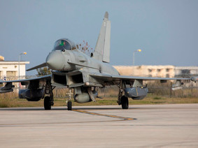 RAF Typhoon Operation, supporting Iraq Ground Forces