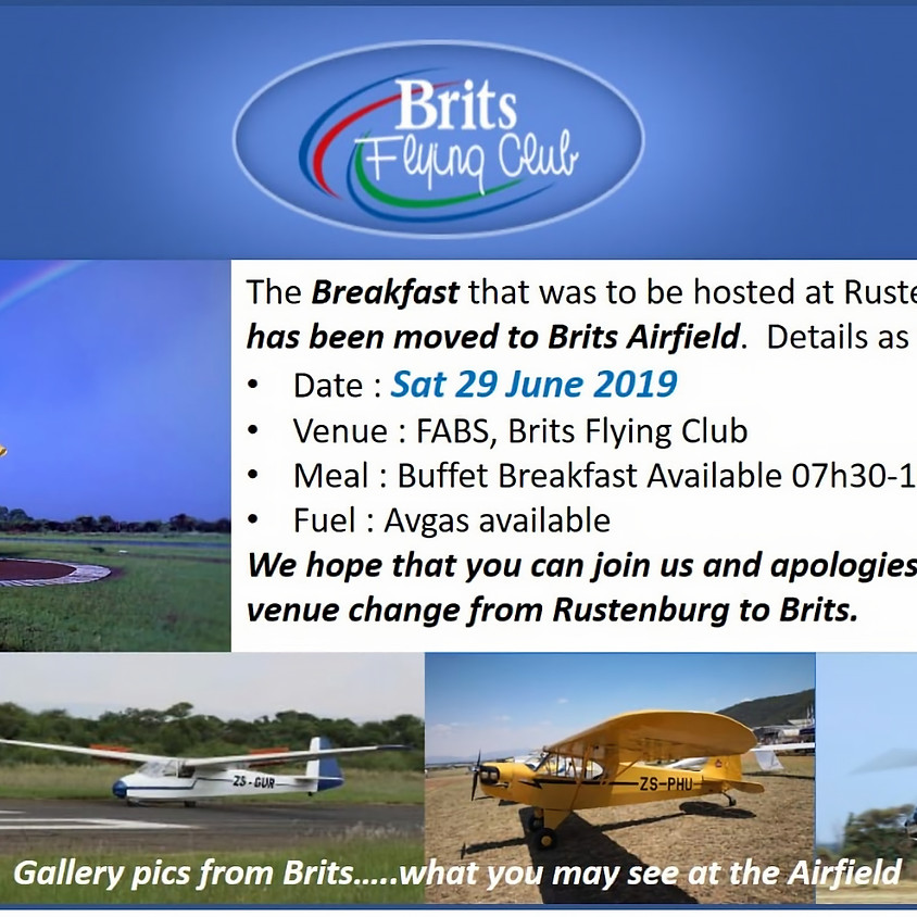 Brits Flying Club Breakfast