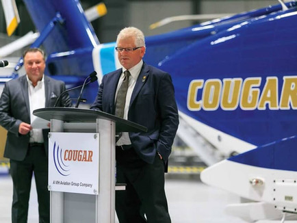Cougar Helicopters become Sikorsky's first S-92A+ customer