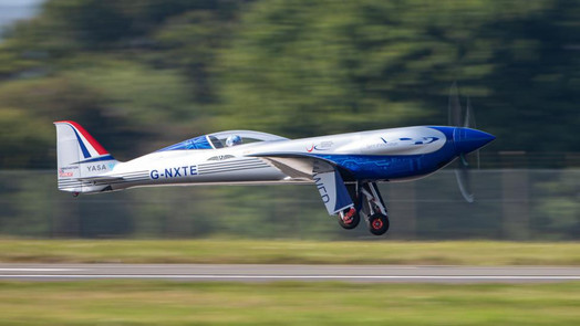 Rolls-Royce's  'Spirit of Innovation' Takes to the Skies for the First Time