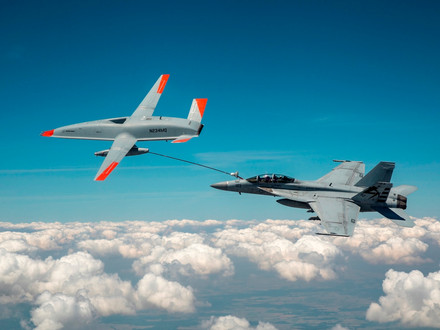 Air-to-Air Refuelling Using an Unmanned Aircraft