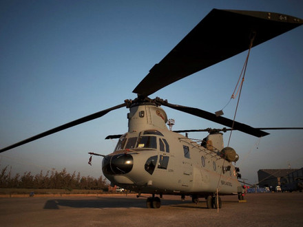 Boeing deliver first CH-47F Chinook to the Royal Netherlands Air Force