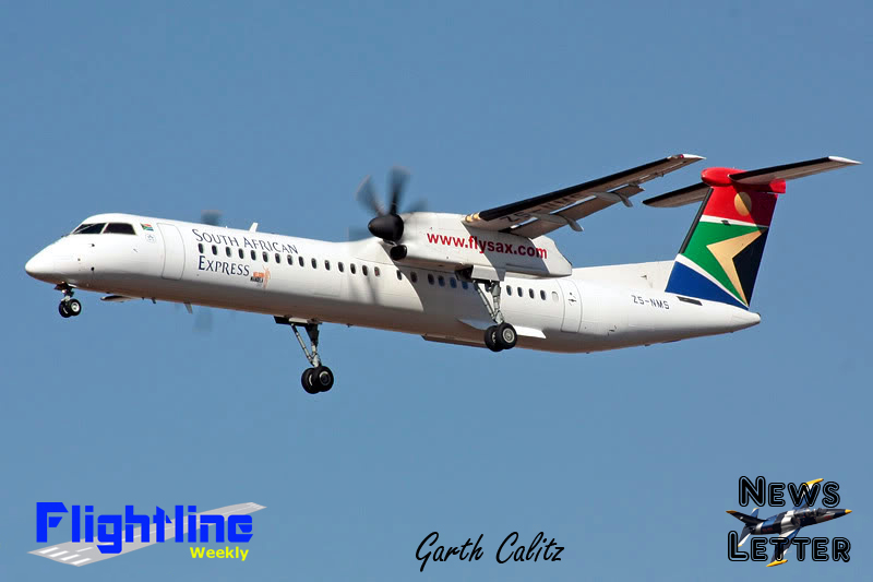 DHC-8 Dash 8 4127 ZS-NMS South African E