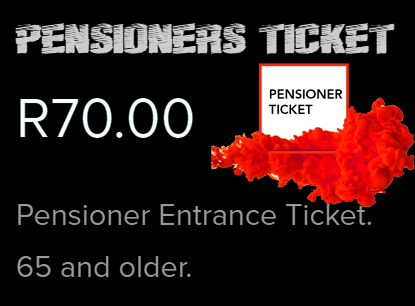 Pensioner-Ticket