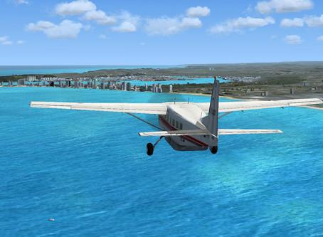 Lock-down Flying – Virtual but Lekker