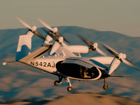 150 Miles with Electric Vertical Take-Off Air Taxi