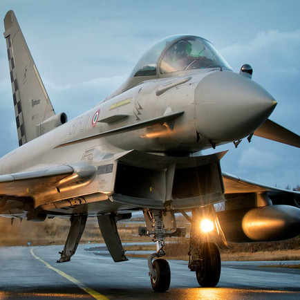 The Italian Air Force takes delivery of its most advanced Eurofighter Typhoon