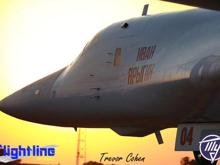 "Tupolev TU-160 – ""White Swans"" Visit South Africa"