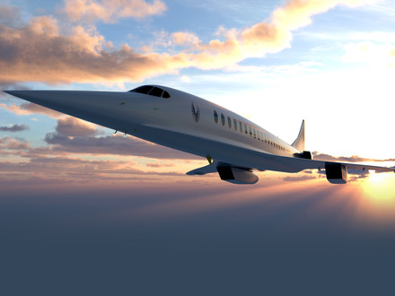 Supersonic passenger flight set to return with a Boom