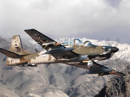 Nigerian Air Force A-29 Super Tucano makes its Inaugural Flight