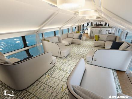 Luxury Airship Travel Due To Return - Airlander 10