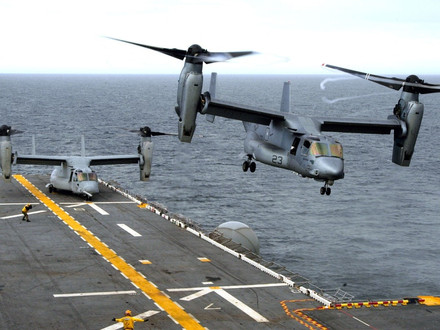 400th CV-22 Osprey delivery to the US DOD