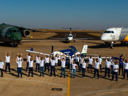 Embraer's Electric Demonstrator Aircraft Begins Flight Test Campaign