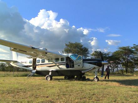 Bush Pilots Tale - Shirtless in Tanzania