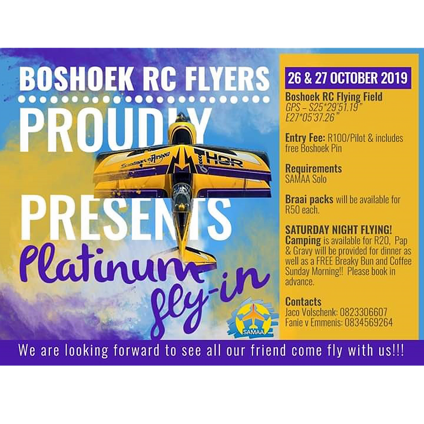 Boshoek RC Flyers Platinum Flyers