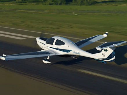 Diamond Aircraft Announces Future All-Electric Trainer with New Partnership