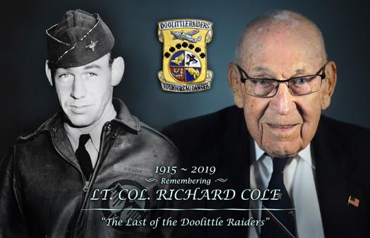 Last of The Doolittle Raiders Memorialised