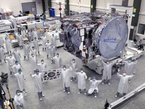 Airbus Built Satellite to start Environmental Tests