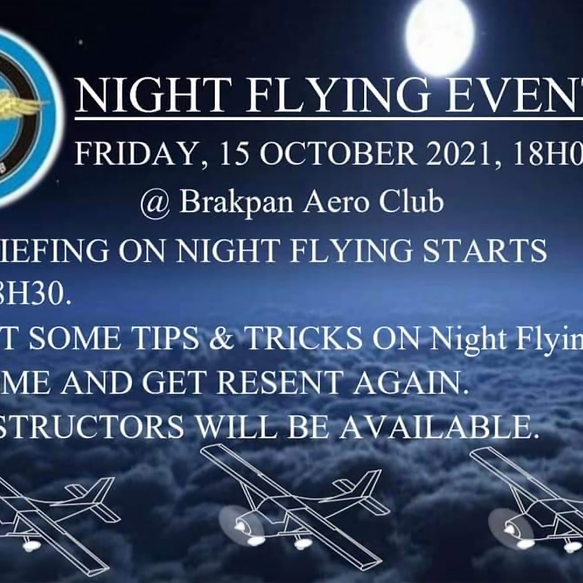 Night Flying Event