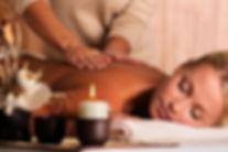 massage relaxanta l'huile