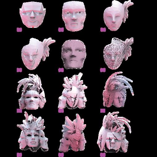 Mascara Transformations