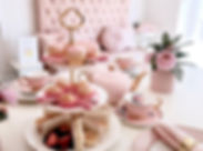 Book your daughter's high tea party onli