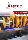 Politriz para Virabrequim - PO