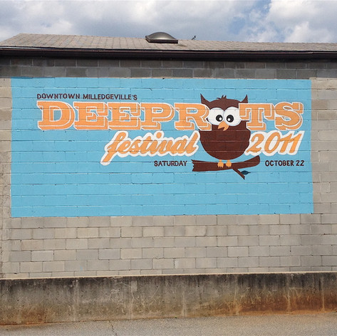 Deeproots Festival Mural