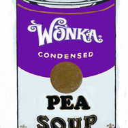 "Giant Wonka Soup Can (Printed out at 2'6"" tall for production)"