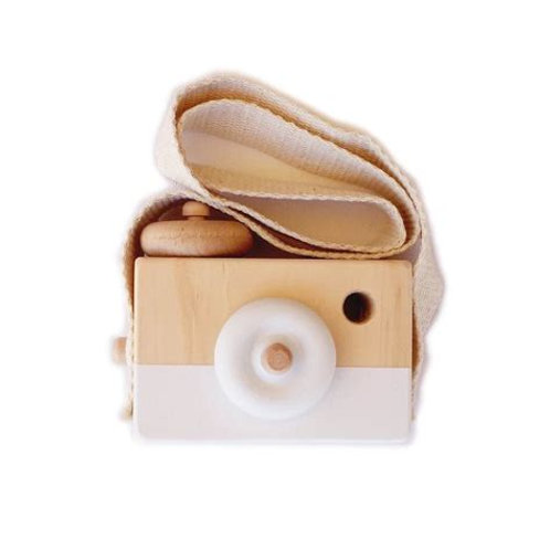 Wooden Mini Toy Camera