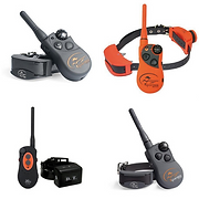 This is a picture of electronic training collars used or training dogs in a hunting environment.