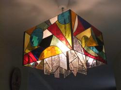 Lustre (Tiffany  32x32x 30  ) par Brig
