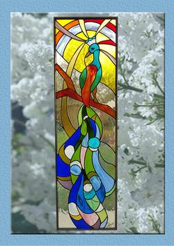 Paon ( Tiffany 125 x 37 ) par Brig