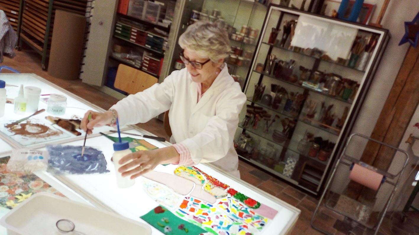 Peinture Grisaille  Travail en cours
