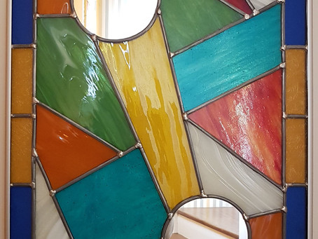 Vitrail Applique lumineuse murale