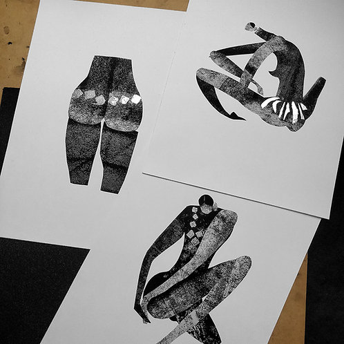 Giclee Print -The Nues Collection