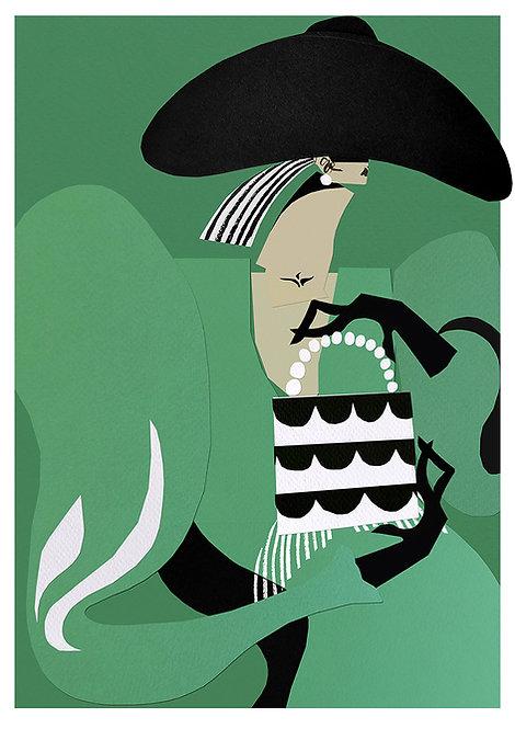 Giclee Print - Rhinestone Shrimp