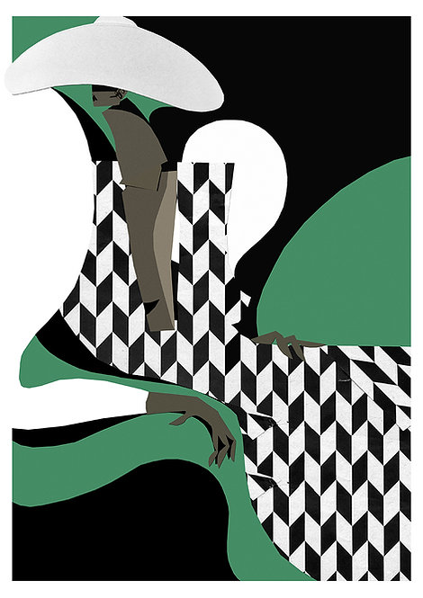 Giclee Print -King, Bishop & Shrimp