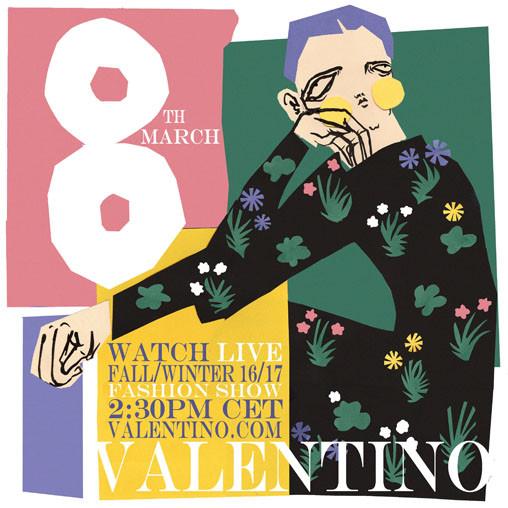 Valentino Invite