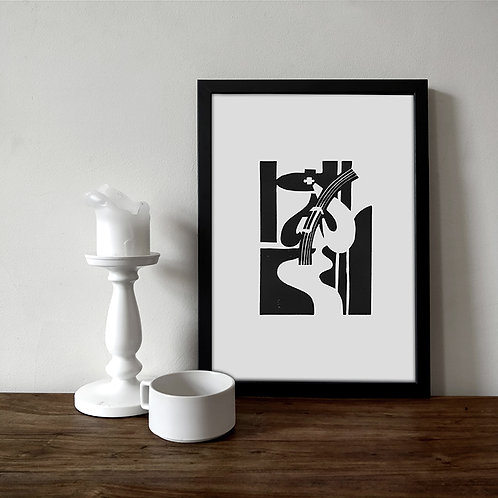 GRANJERA / Limited Edition Lino Print