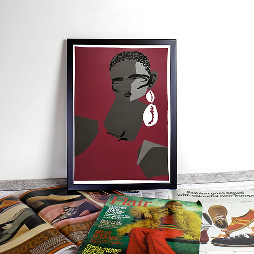 Limited Edition Giclee Print - Flaneuse 1