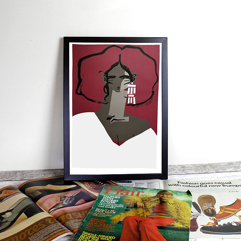 Limited Edition Giclee Print - Flaneuse 2