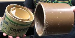 Concert cylinder sound recording