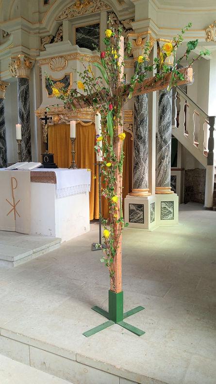 2021-04-21 Osterkreuz Kirche Steinbach.j