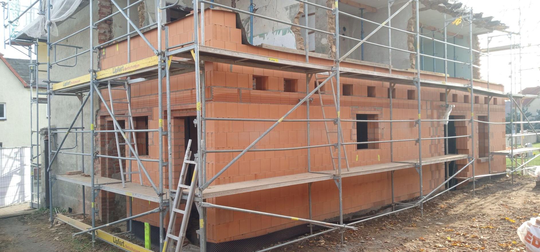 Neuaufbau der Westmauer 2