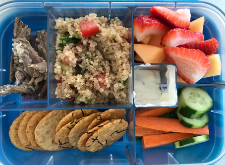 My essentials for a healthy, nourishing lunchbox
