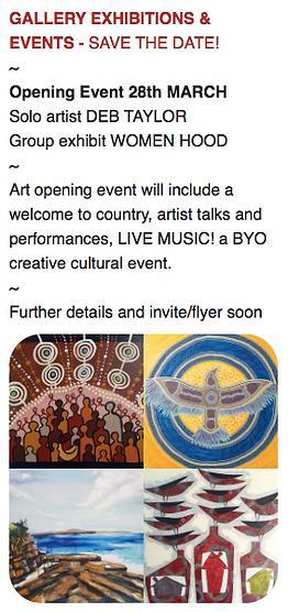 Yamba Art Space Gallery Showcasing