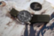 NASA velcro strap omega speedmaster olive