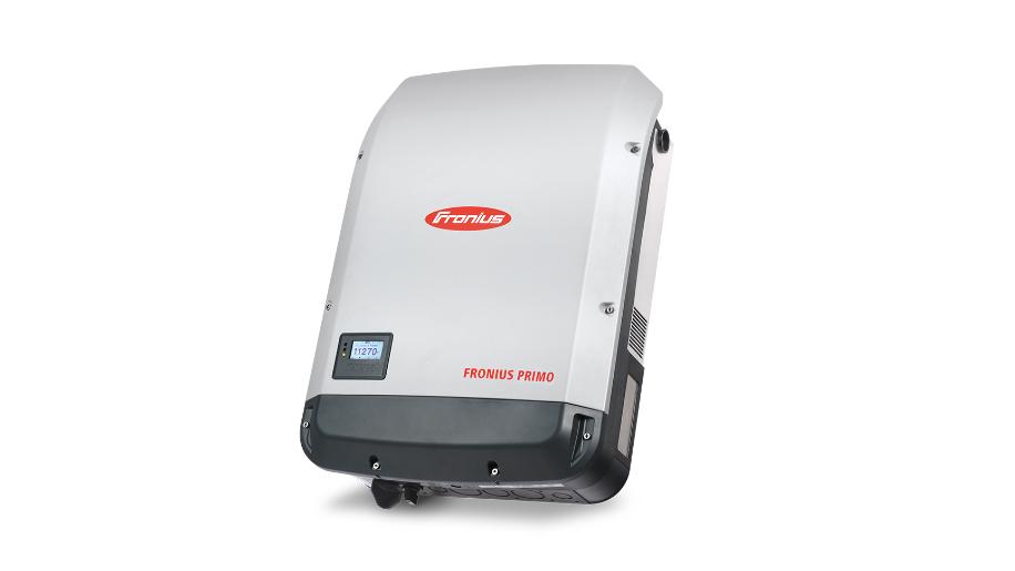 Inversor Fronius Primo, con clases de potencia de 3.8 a 15.0 kW